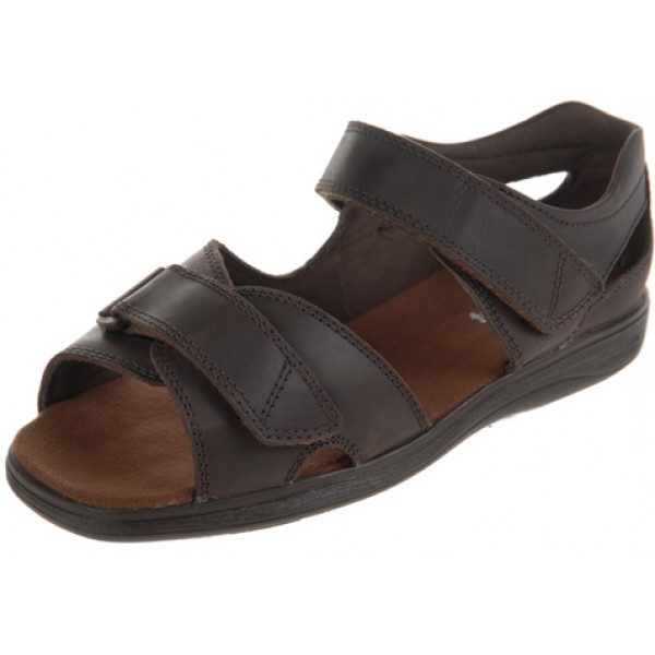 Bingley Roomy Sandal and mens' wide fitting sandals