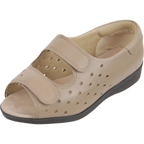 Connie Roomy Sandal and ladies' wider fitting sandlas