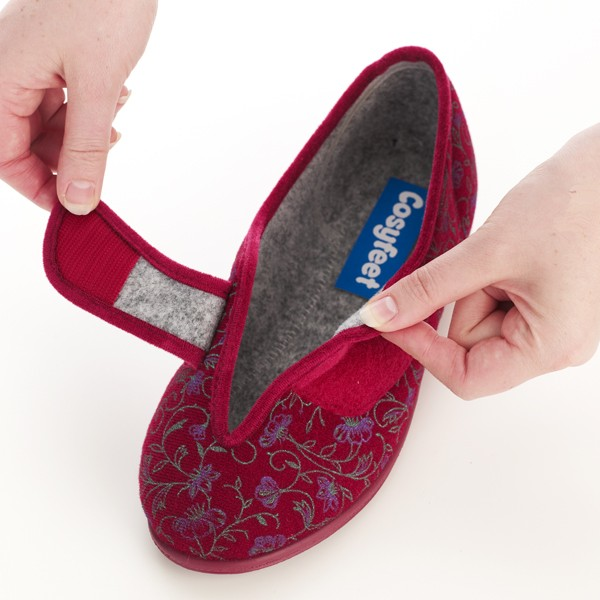 Diane Ladies Slipper and ladie's wider fitting slippers