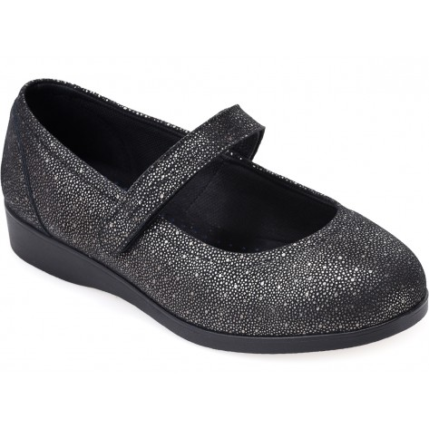 Cosyfeet Daisy Mae Extra Roomy Ladies Wider Fitting Shoe