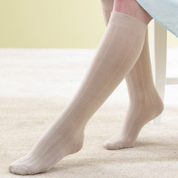 Knee High Socks & extra Roomy Socks and Shoes
