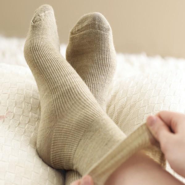 Wool-Rich & Seam Free Socks and wider Fitting Footwear
