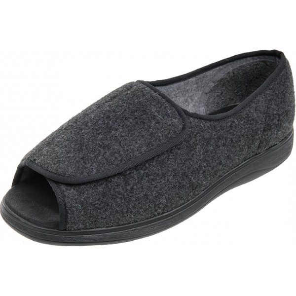 Jonny Roomy Slipper and wider fitting slippers