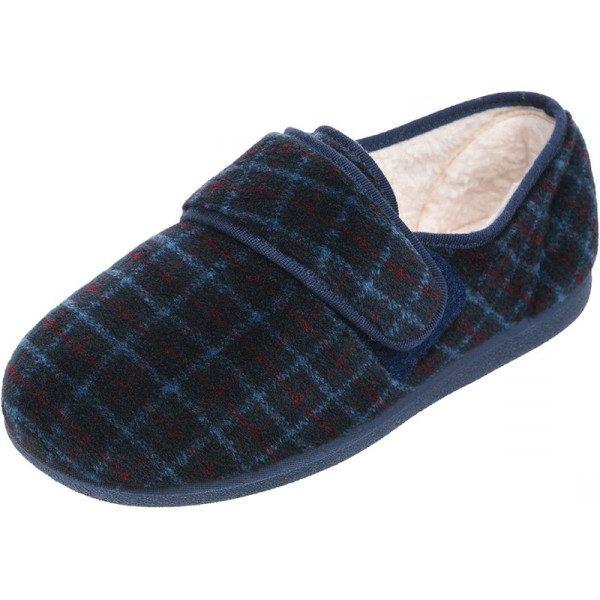 Rudolph Roomy Slipper - Wide Shoe