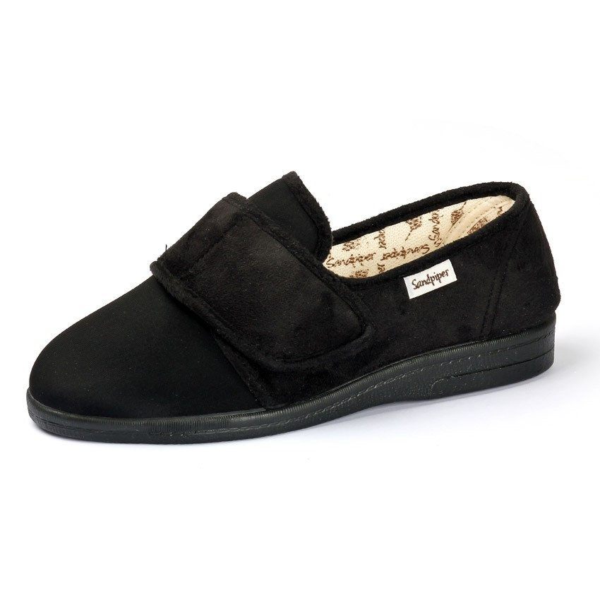 Silas Roomy Slipper and men's wider fitting slippers