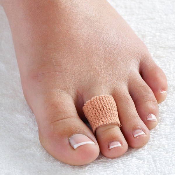 Gel Toe Tube and Toe Protection