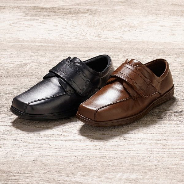 Jones Extra Roomy Shoe and men's wider fitting footwear