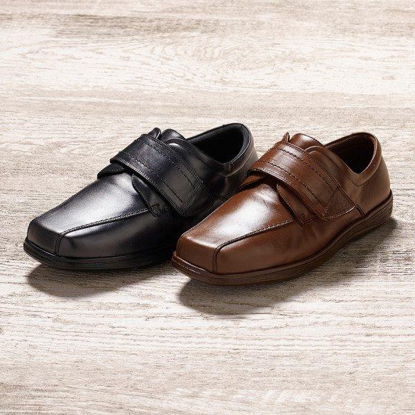 Jones Extra Roomy Shoe and men's wider fitting footwear