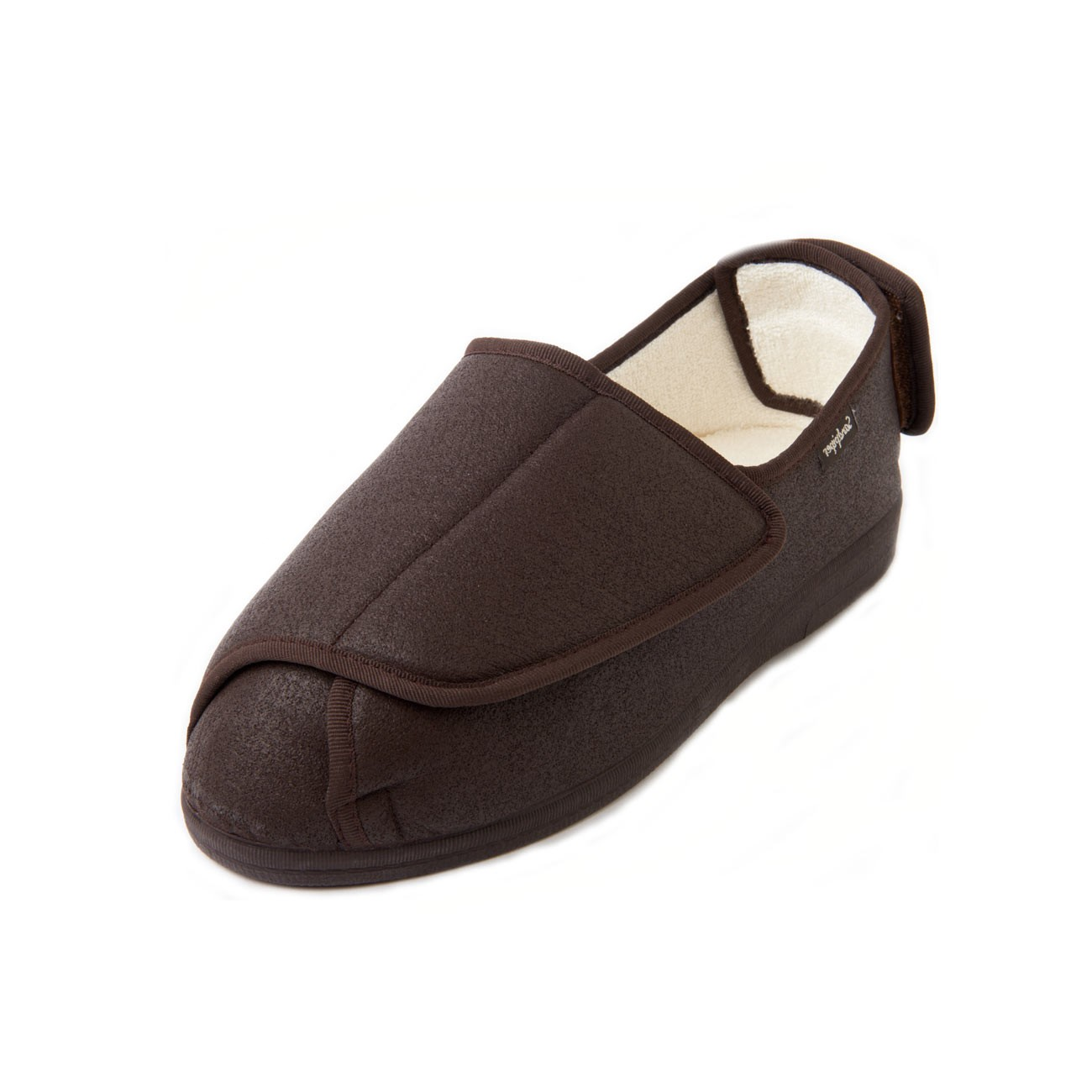 Wesley Extra Wide Men's Slipper and men's wide fitting slippers