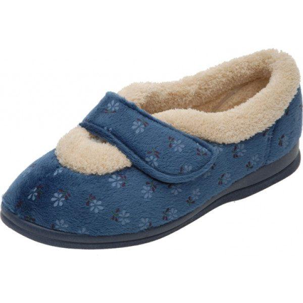 Sleepy Ladies Roomy Slipper and Ladies wider fitting slippers