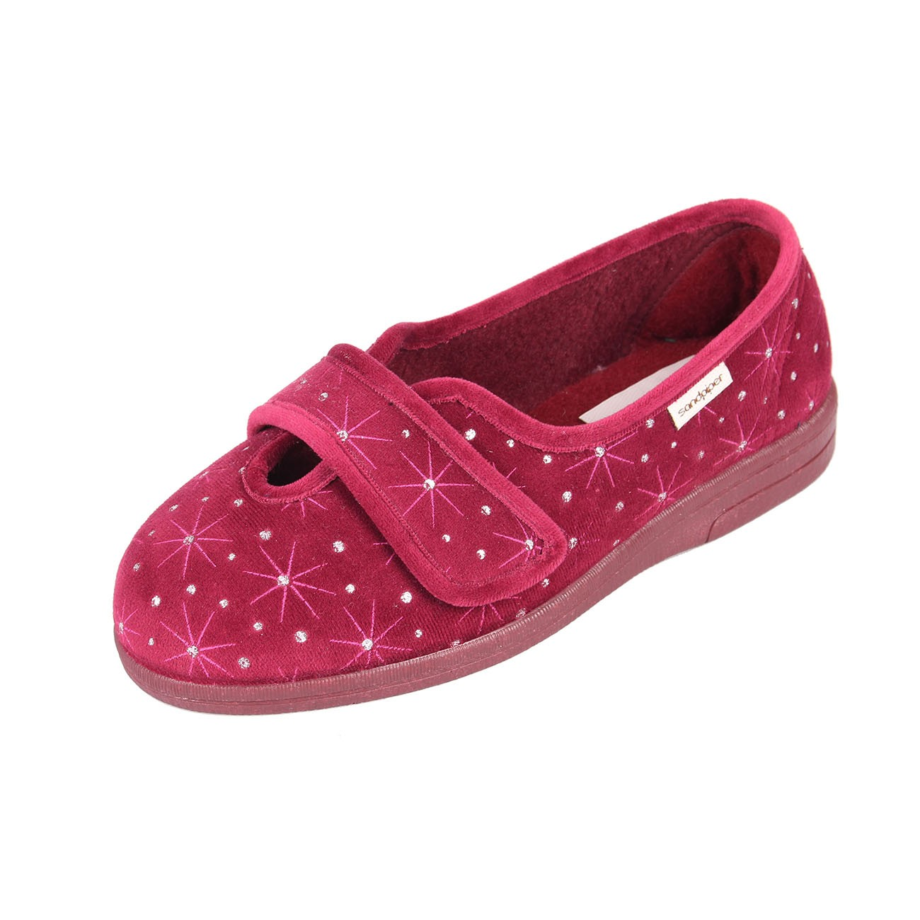 Sandpiper Sadie Ladies Extra Wide Slipper