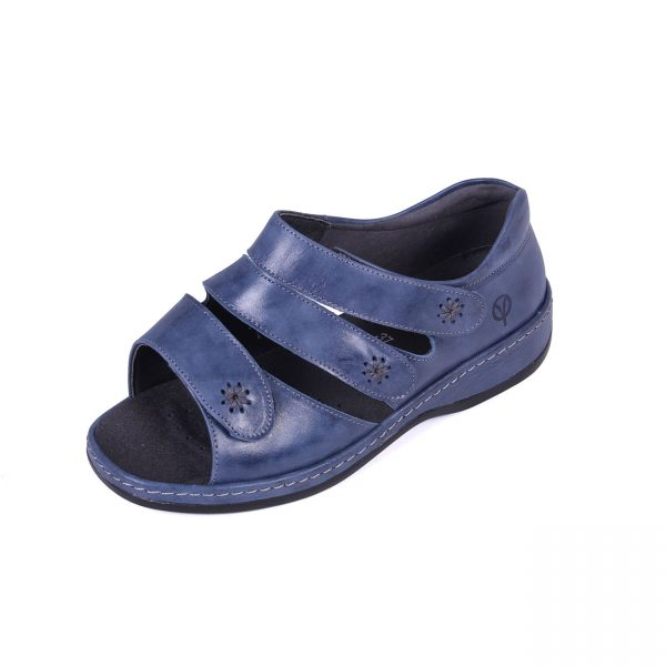 Sandpiper Cara LAdies Roomy Sandal for swollen feet and problem feet.