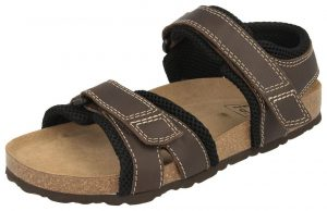 wide fitting sandals and the Dillon Extra Roomy Men's Sandal